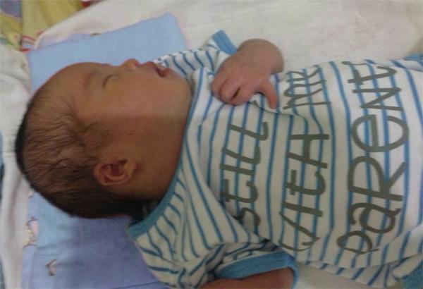 baby Alphonse